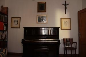 Casa Allori, stanza del pianoforte
