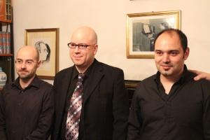 Gabriele Loriga, Marcello Melis e Alessio Manca