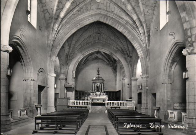 La cattedrale di Iglesias ai tempi di don Allori. La sua polifonia per la Settimana Santa è pensata per tale spazio