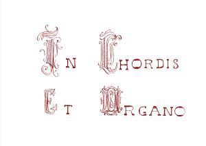 Frontespizio disegnato da don Allori per l'opera omonima (12 composizioni per organo, Gonnesa 1946)