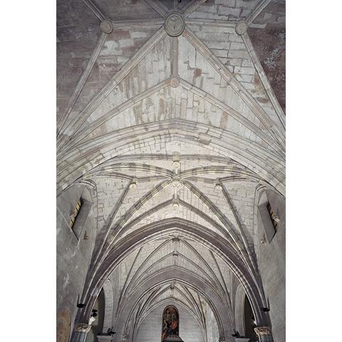 Iglesias, Cattedrale particolare delle volte