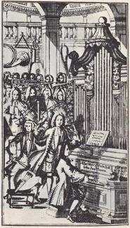 Frontespizio del Musicalishes Lexicon di Johann Gottfried Walther