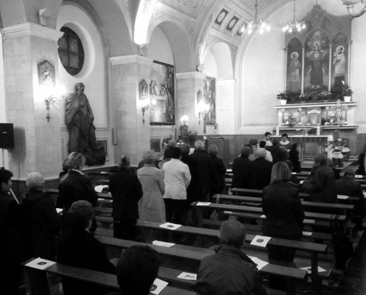 Foto: Chiesa parrocchiale di Gonnesa 21 novembre 2014 Messa di Santa Cecilia celebrata da don Francesco Lai, parroco di Nebida e organista titolare della Cattedrale di Iglesias