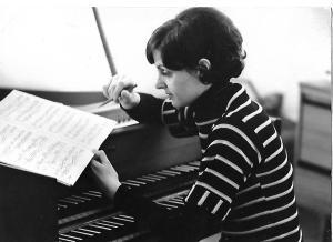 L'organista tedesca Martha Schuster